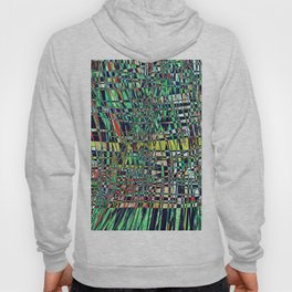 The Grid- Abstract Geometric  Hoody