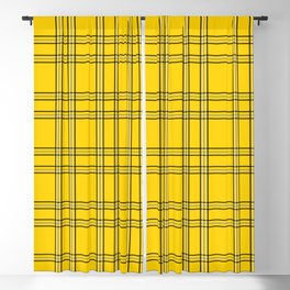 Clueless Plaid Blackout Curtain
