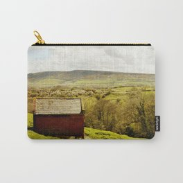 View of Robin Hoods Bay Carry-All Pouch