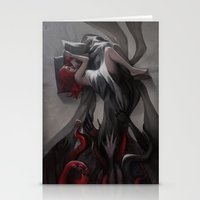 hiphop Stationery Cards featuring Oneirology by loish