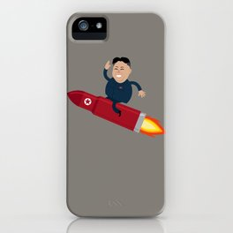 The Nuclear Rider iPhone Case