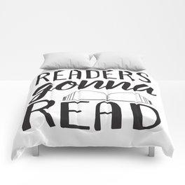 Readers Gonna Read Comforters