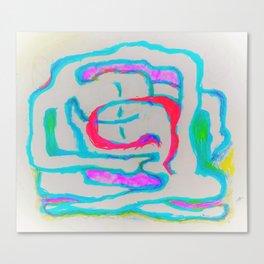 inuit venn diagram love 2 Canvas Print