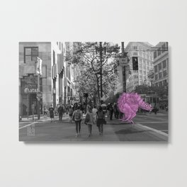 Unseen Monsters of San Francisco - Toof McShizzy Metal Print
