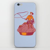 western iPhone & iPod Skins featuring Spaghetti Western by Tom Burns