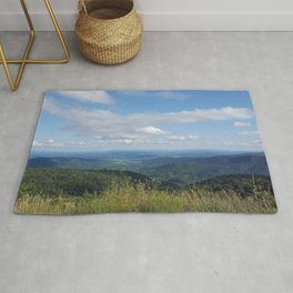 Shenandoah valley skyline drive mountains front royal Virginia By Katy Christoff Rug