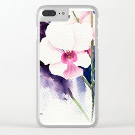 20130630 Singapore Orchid Clear iPhone Case