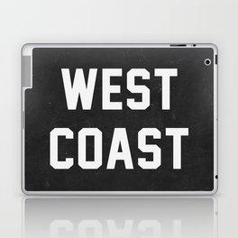 West Coast - black version Laptop & iPad Skin