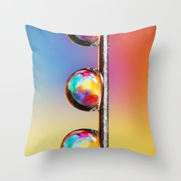 Tropical Pin Drop Throw Pillow