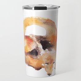 Watercolor Fox Travel Mug