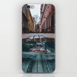Urban reflections iPhone Skin