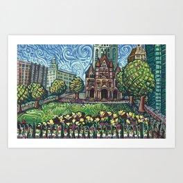 Copley Square Art Print