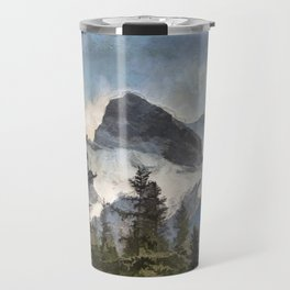The Three Sisters - Canadian Rocky Mountains Travel Mug