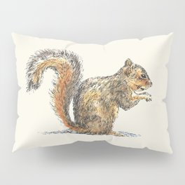 Sitting Squirrel Pillow Sham