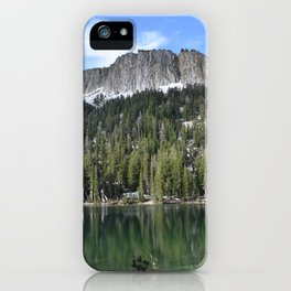 McCloud Lake iPhone Case