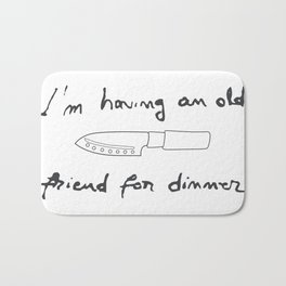 Silence of the Lambs. Quotes. Hannibal Bath Mat