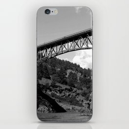 Deception Pass, the Bridge to Whidbey Island iPhone Skin