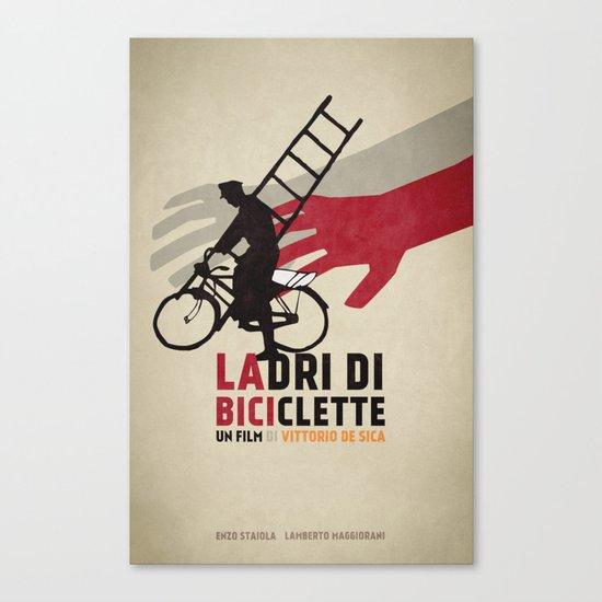 Ladri di biciclette Canvas Print