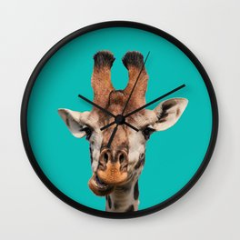 Gee Raffe the Giraffe Wall Clock
