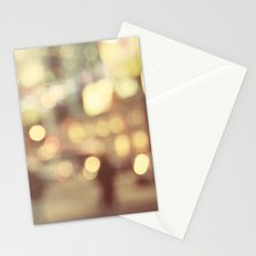 Bokeh in the City Stationery Cards