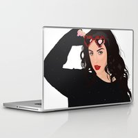 charli xcx Laptop & iPad Skins featuring Charli XCX by BUGS