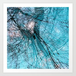 Wire Willows Art Print