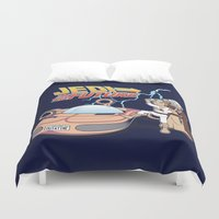 jedi Duvet Covers featuring JEDI IN THE FUTURE by Bamboota
