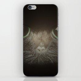 Cats, darklight iPhone Skin