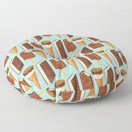 Ice Cream Pattern - Popsicles Floor Pillow