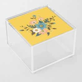 Flowers Acrylic Box