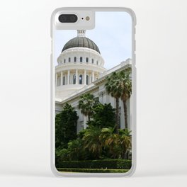 California State Capitol Clear iPhone Case