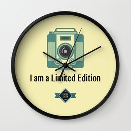 I Am A Limited Edition Wall Clock