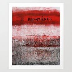limites Art Print