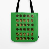 frames Tote Bags featuring loadinghead.gif frames by mrhappyface
