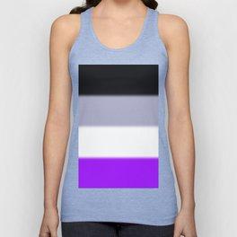Asexual Pride Flag Unisex Tank Top