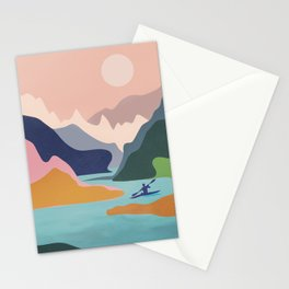 River Canyon Kayaking Stationery Cards