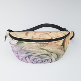 Some people grumble - Colorful Roses - Rose pattern Fanny Pack