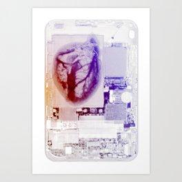 Its Heart Art Print