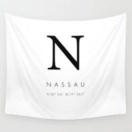 25North Nassau Wall Tapestry