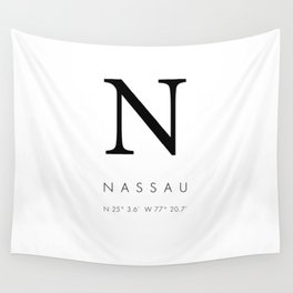 25North Nassau Wall Tapestry