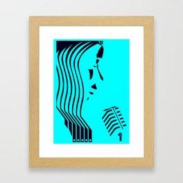 Jazz Trio Vocals (1 of 3) Framed Art Print
