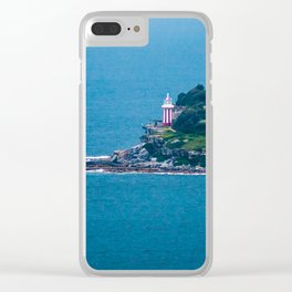 Hornby Lighthouse, Sydney Harbour Clear iPhone Case