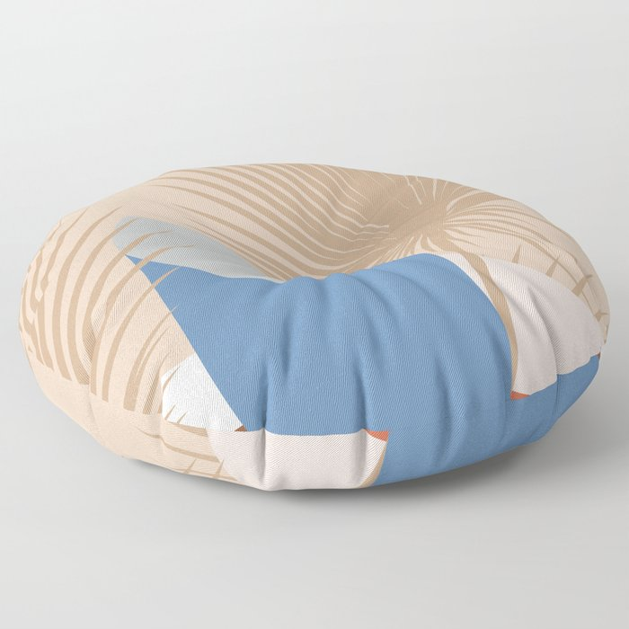 Tropical Breeze 02 Floor Pillow