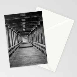 Interior Riverwalk Covered Bride Littleton New Hampshire Ammonoosuc River Stationery Cards