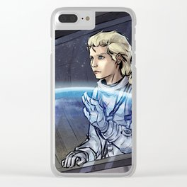 Metal Gear Solid - The Boss Clear iPhone Case