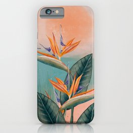 SUN BATH iPhone Case