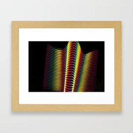 Wave of Light Two Framed Art Print