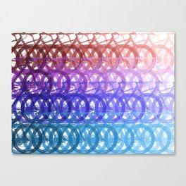 Mountain bike palette Canvas Print