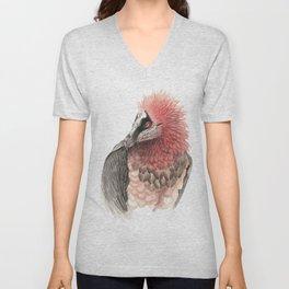Bearded vulture Unisex V-Neck