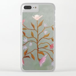 Flowers In Suspense I Clear iPhone Case